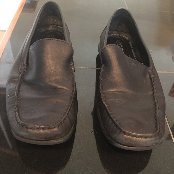 Ecco loafers.